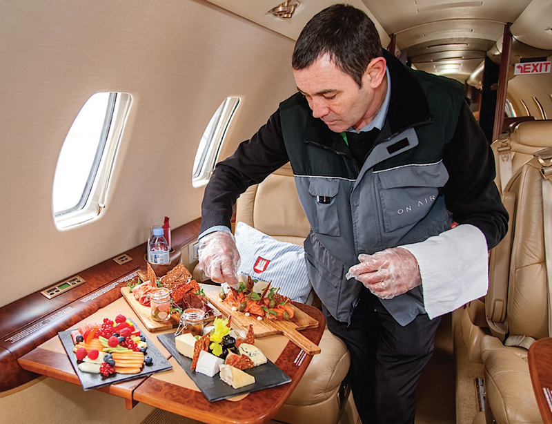 Business Aviation Caterers Business Jet Traveler