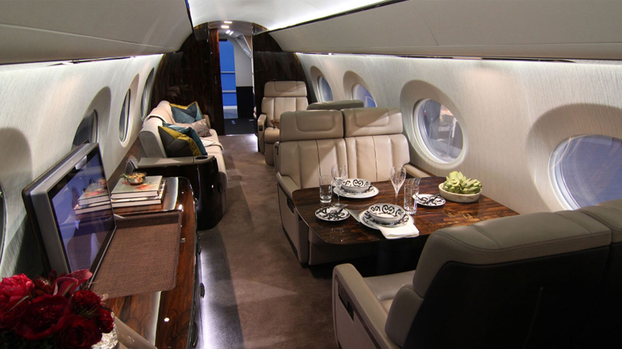 Preview The Gulfstream G600 Business Jet Cabin Business