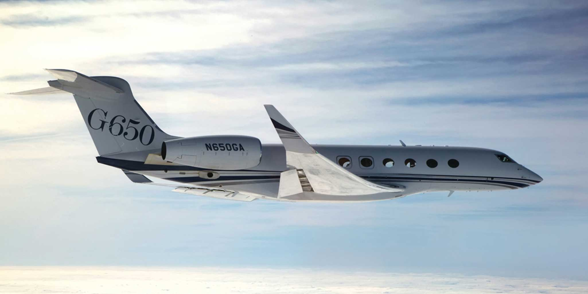Fastest Jet In The World >> Gulfstream G650 Wins FAA Provisional Certification ...
