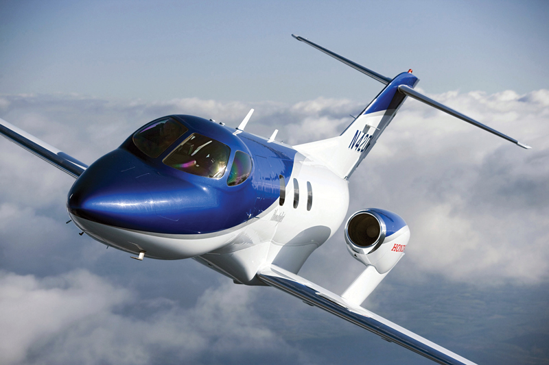 Honda s hondajet business jet traveler for How much is a honda jet