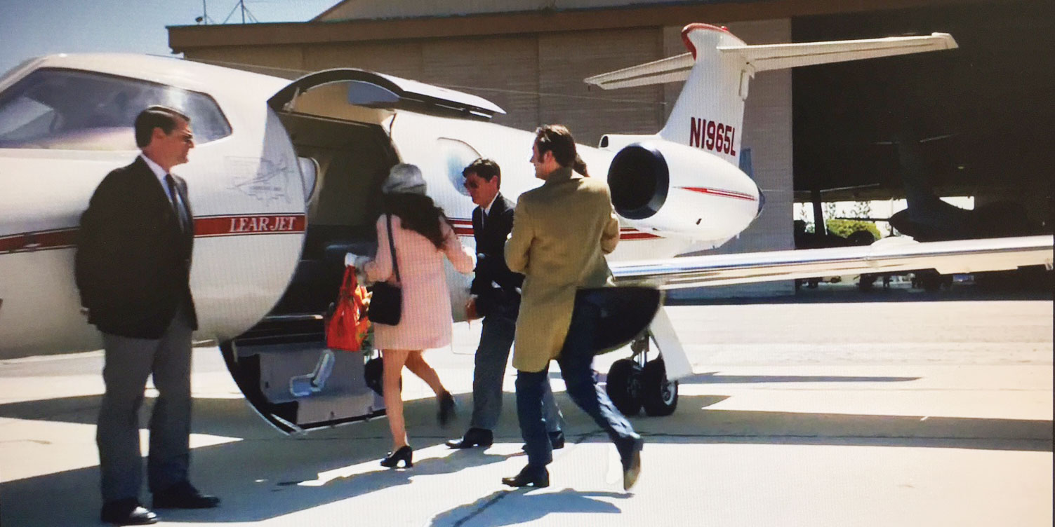 Exiting The Mad Men Era In A Lear Jet Business Jet Traveler