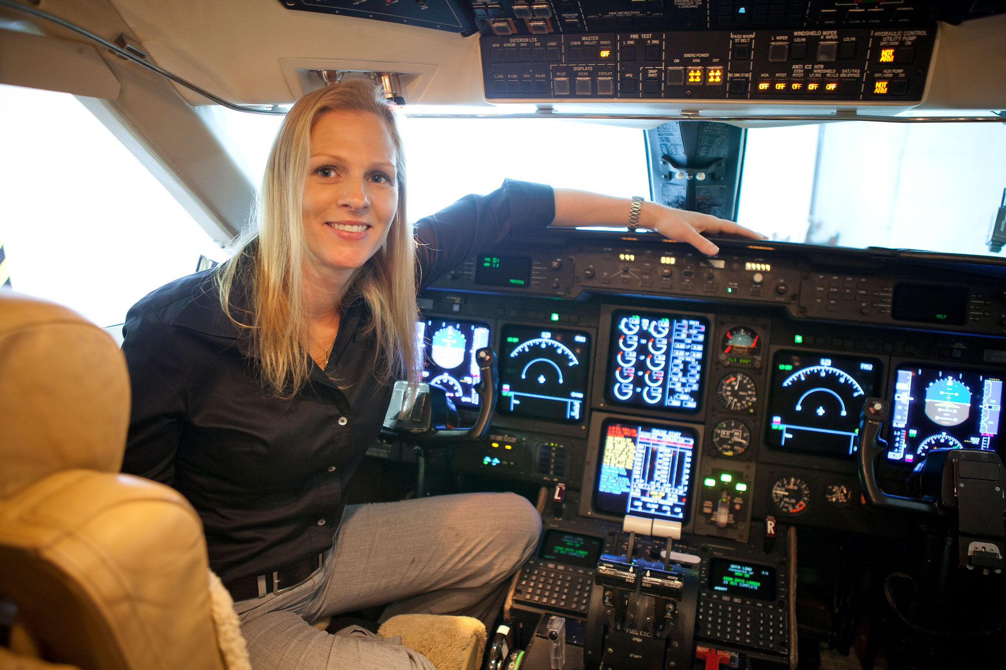 A Few Words With Madeleine Gilad Co Owner Chief Pilot