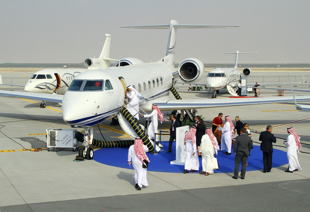 Meba 2012 strong demand for large cabin jets business for Large cabin business jets