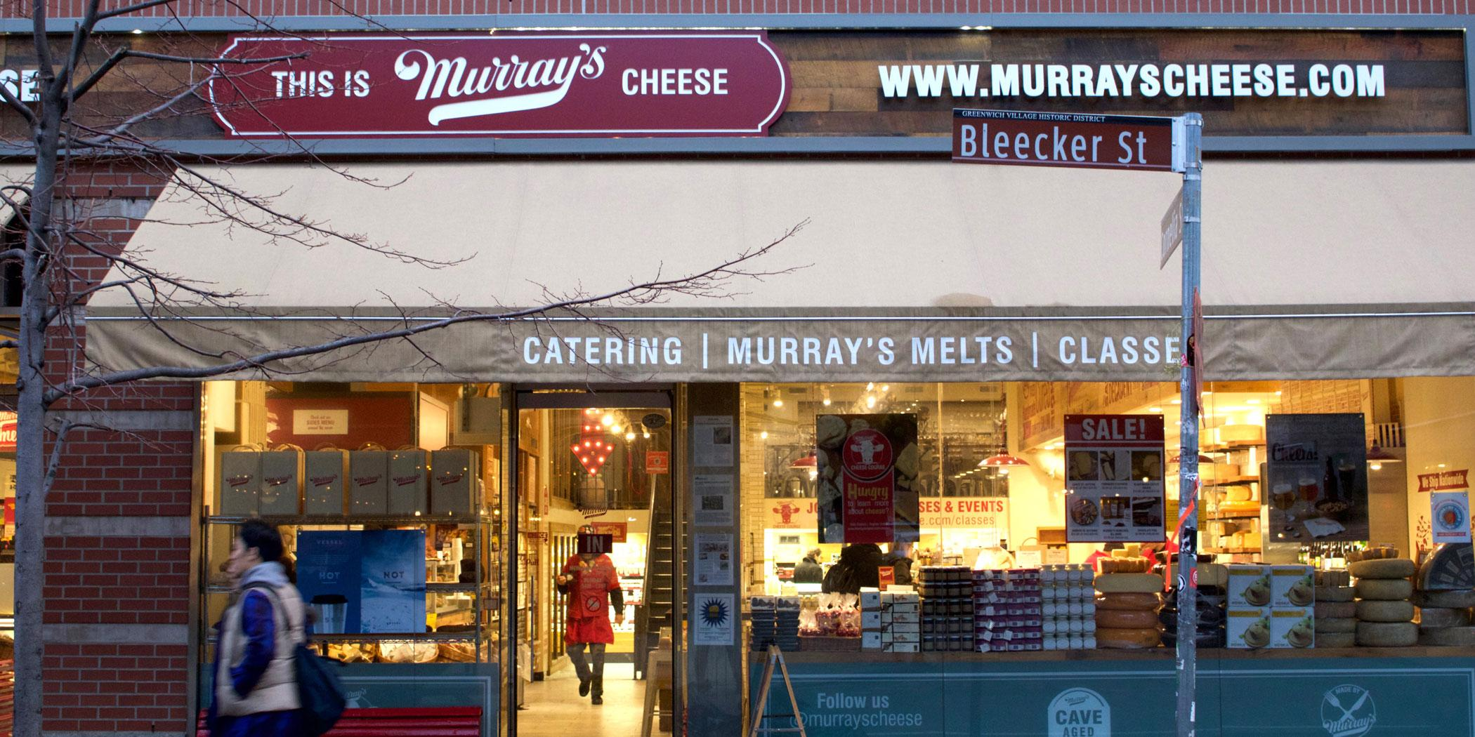Famous Murray's Cheeses in Greenwich Village.