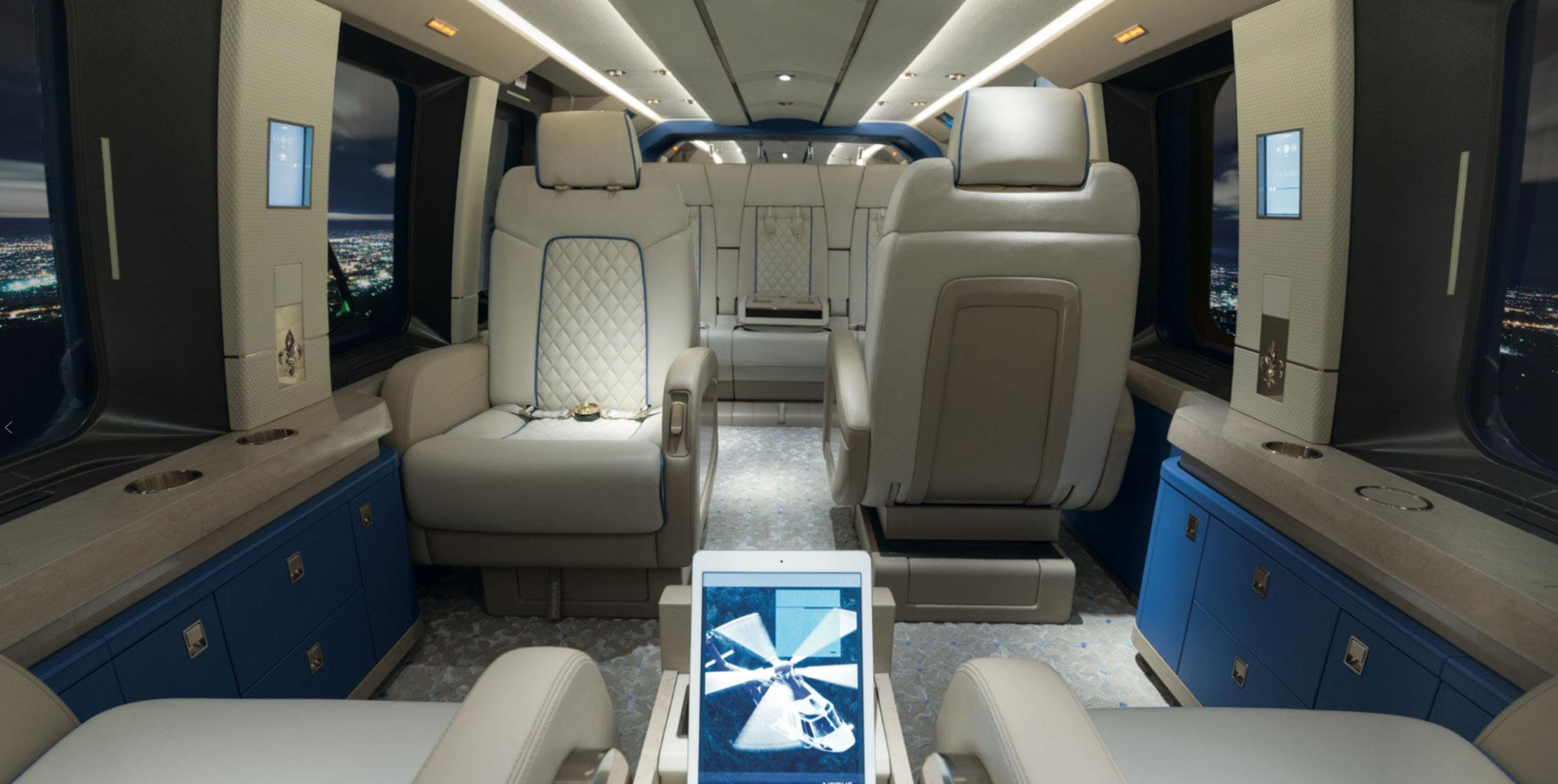 Airbus Helicopters' H175 cabin