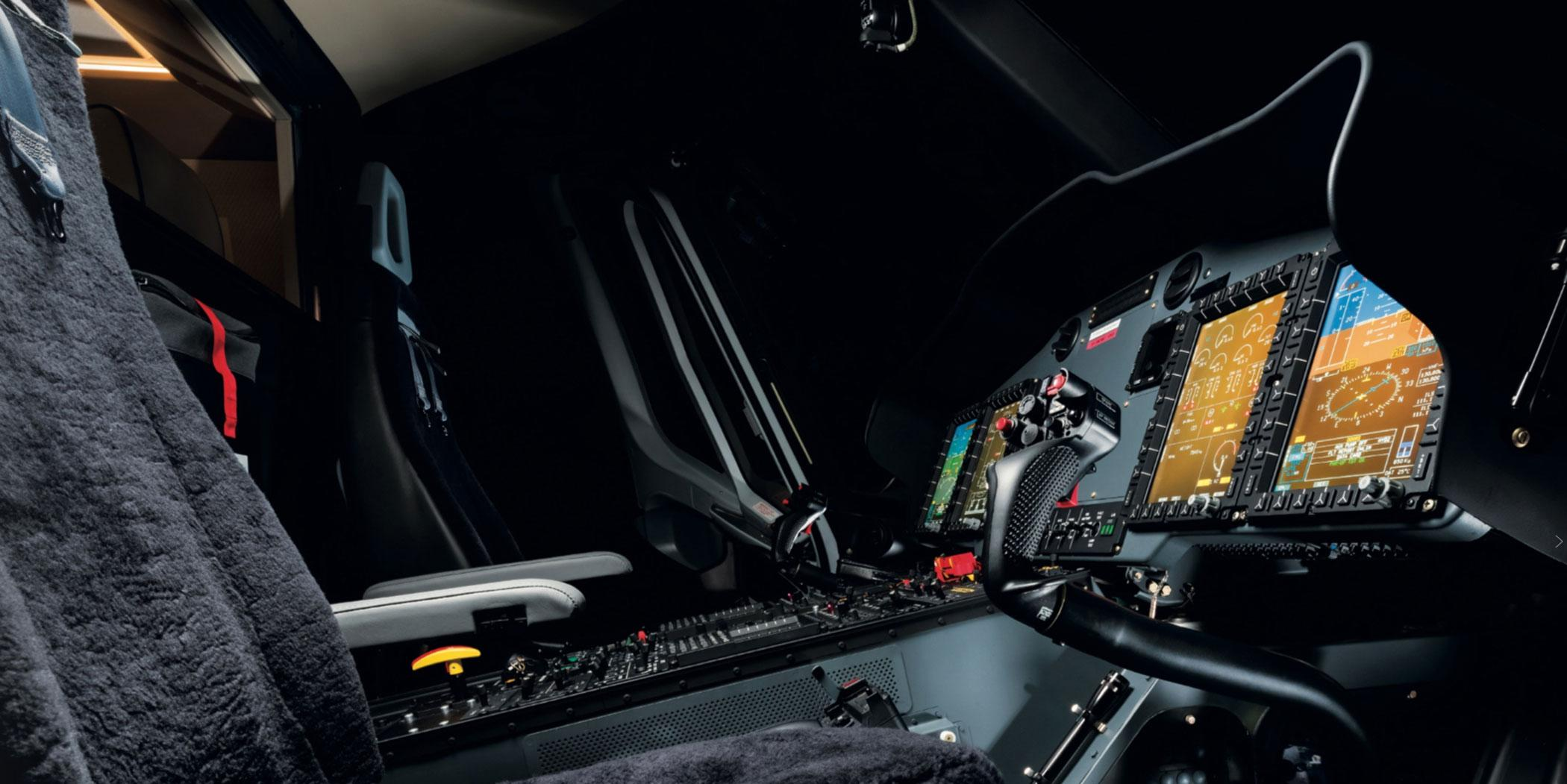 Airbus Helicopters' H175 cockpit