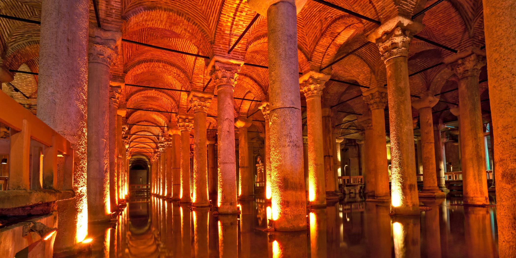 The Basilica Cistern Photo Adobe Stock