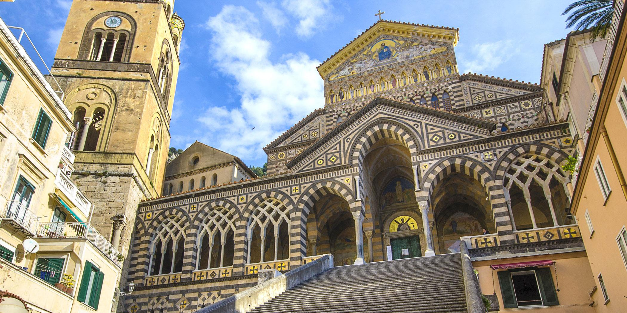Cathedral of St. Andrew, Amalfi. Photo: Adobe Stock