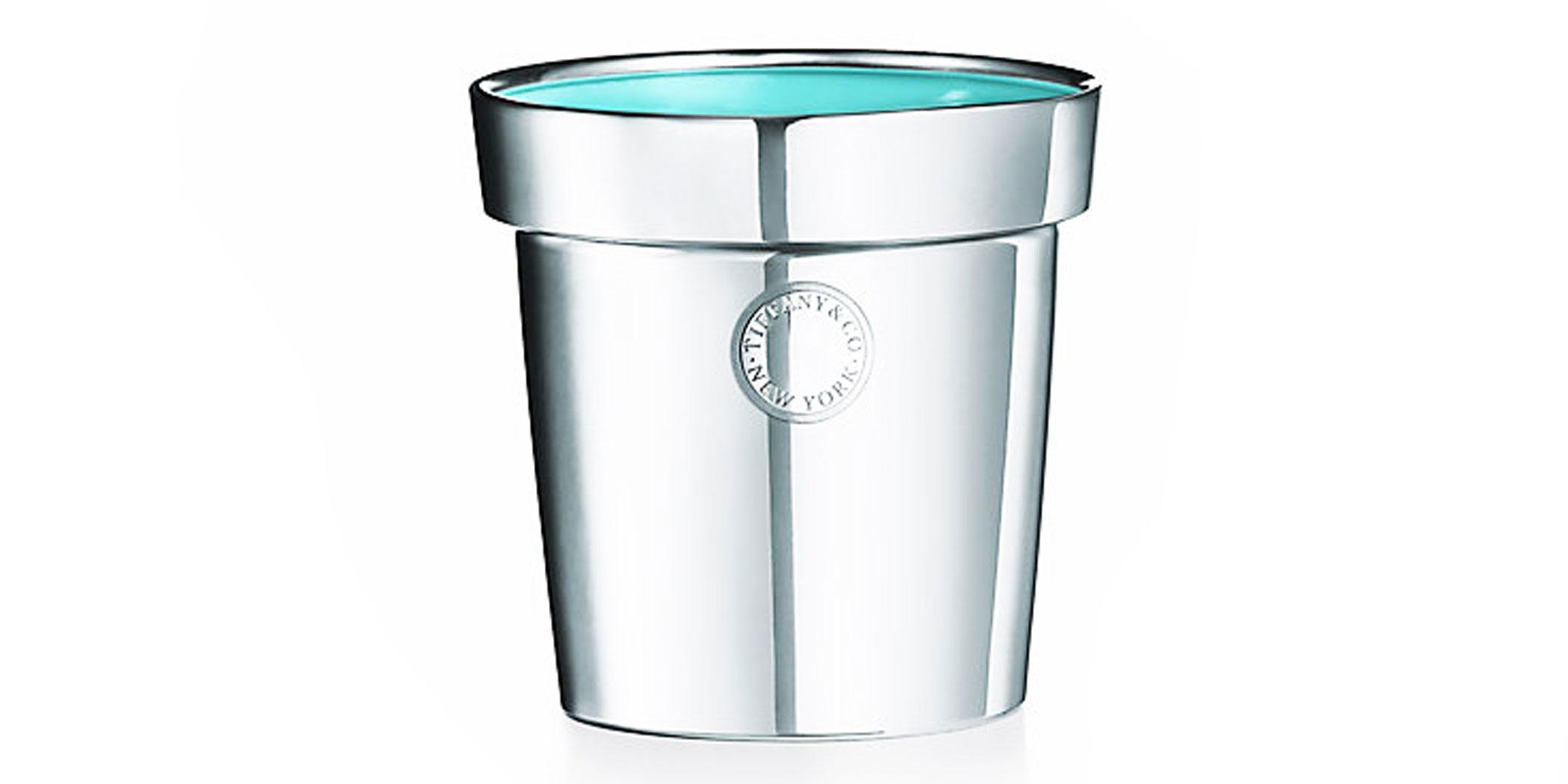 This sterling silver flowerpot from Tiffany