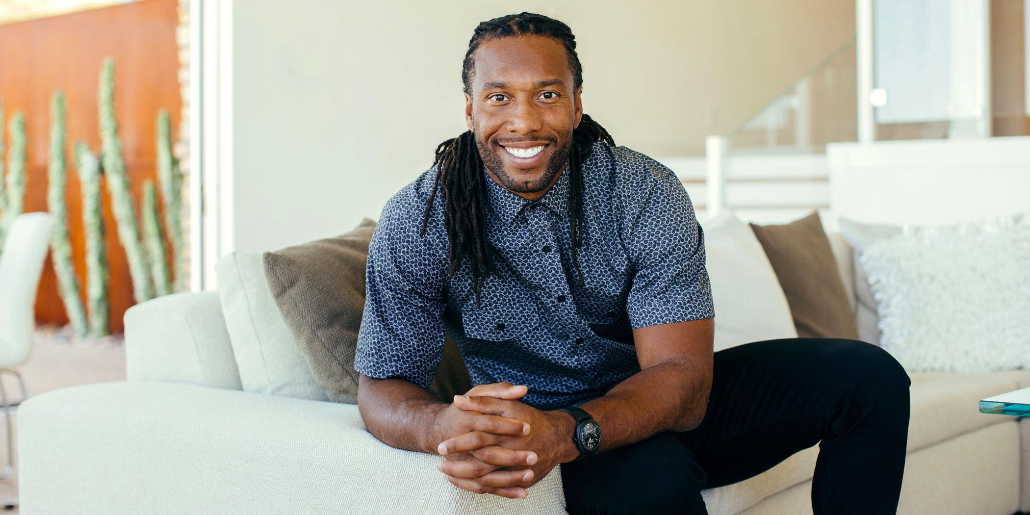 Larry Fitzgerald, Arizona Cardinals football player Photo: Jill Richards