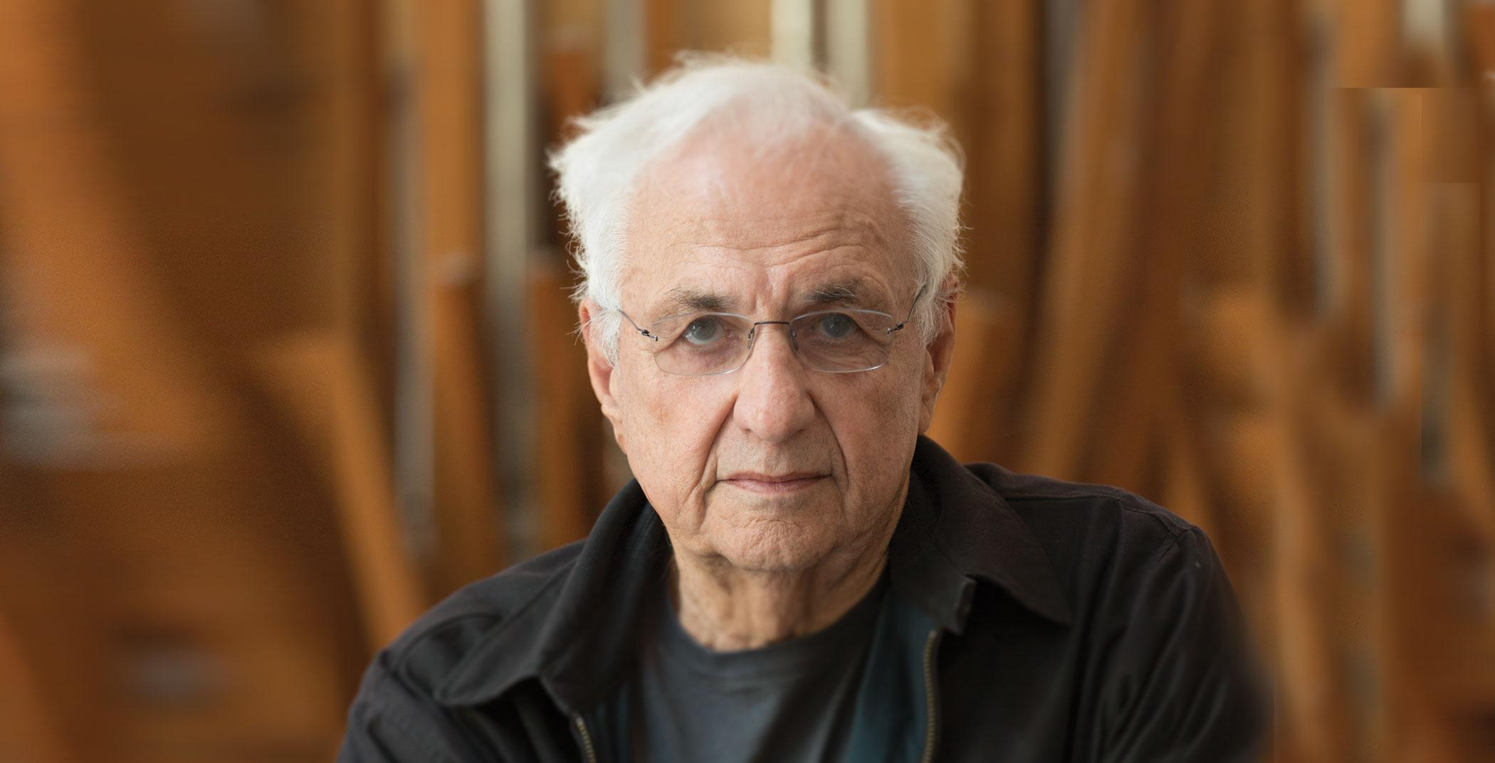 Frank Gehry, architect (Photo: Chad Slattery)