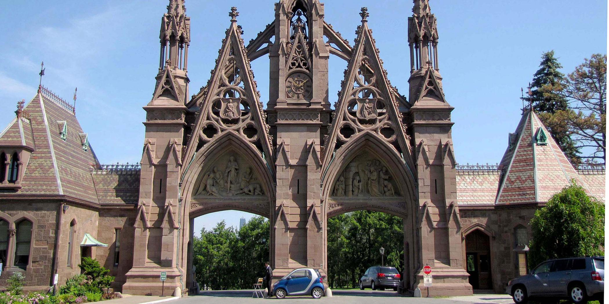 Visit Brooklyn's 400-acre Green-Wood Cemetery, a National Historic Landmark.