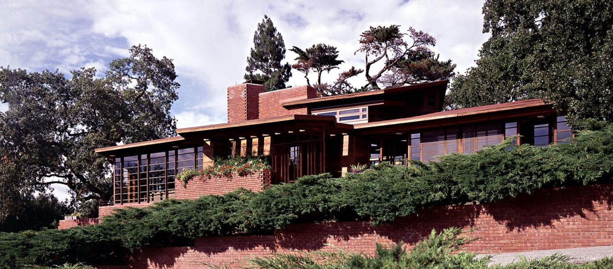The Hanna House, Stanford, California.