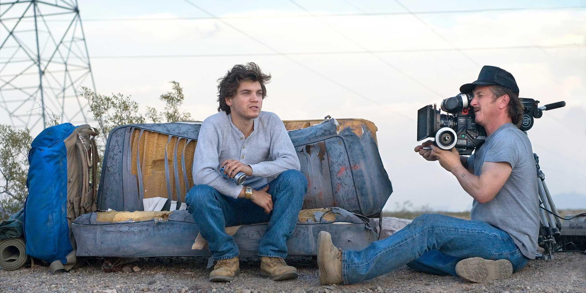 Penn films Emile Hirsch for Into the Wild. © paramount pictures 2020, from into the wild, now on on digital