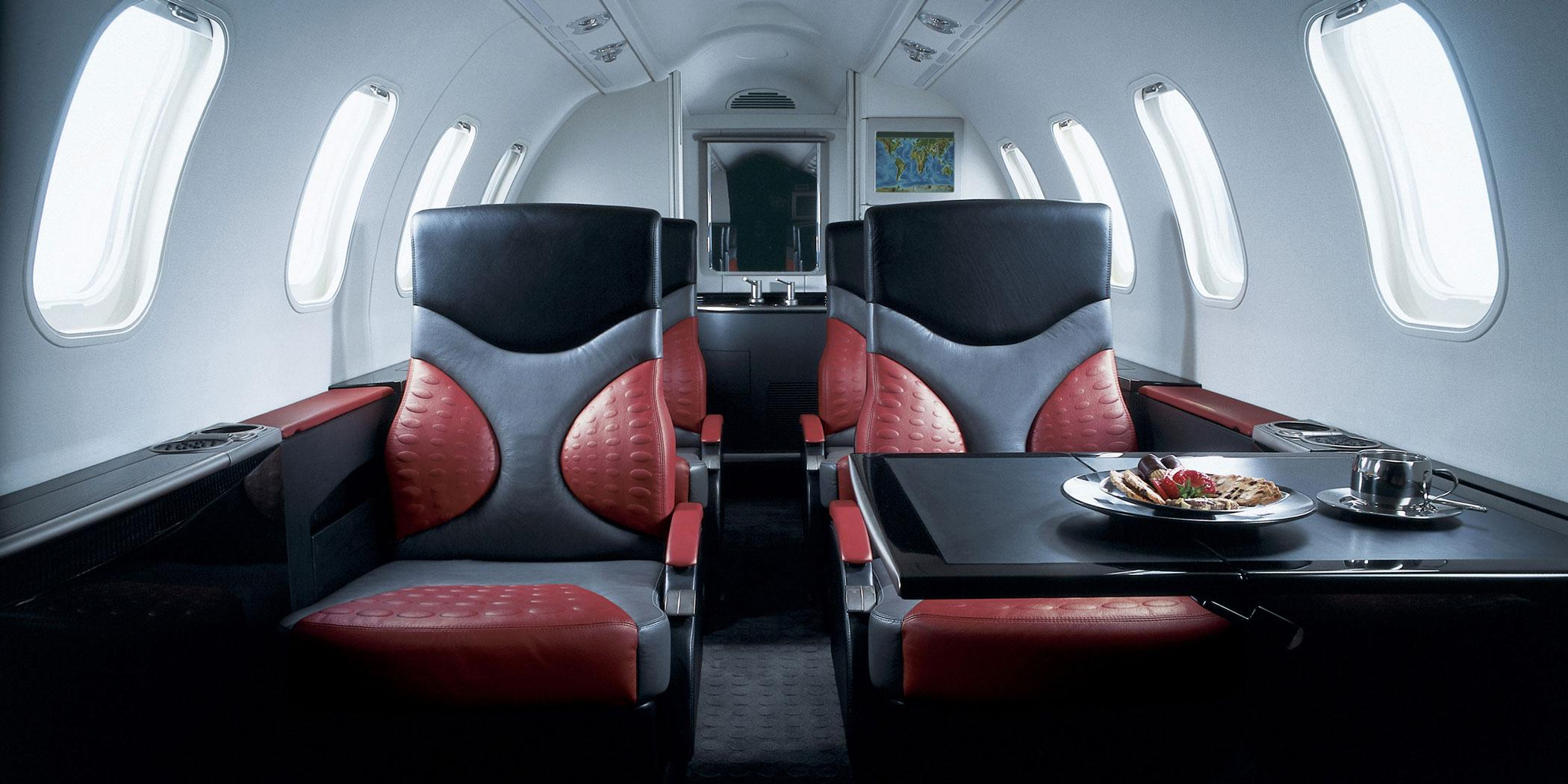 Learjet 40 XR Interior