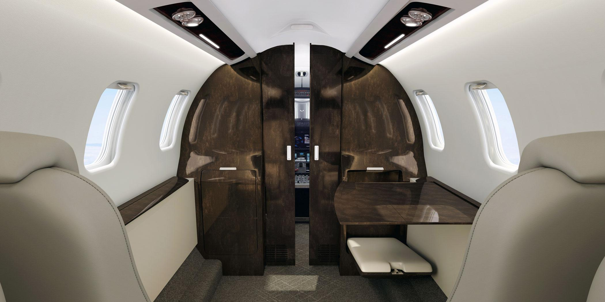 Learjet 75 Liberty Cabin