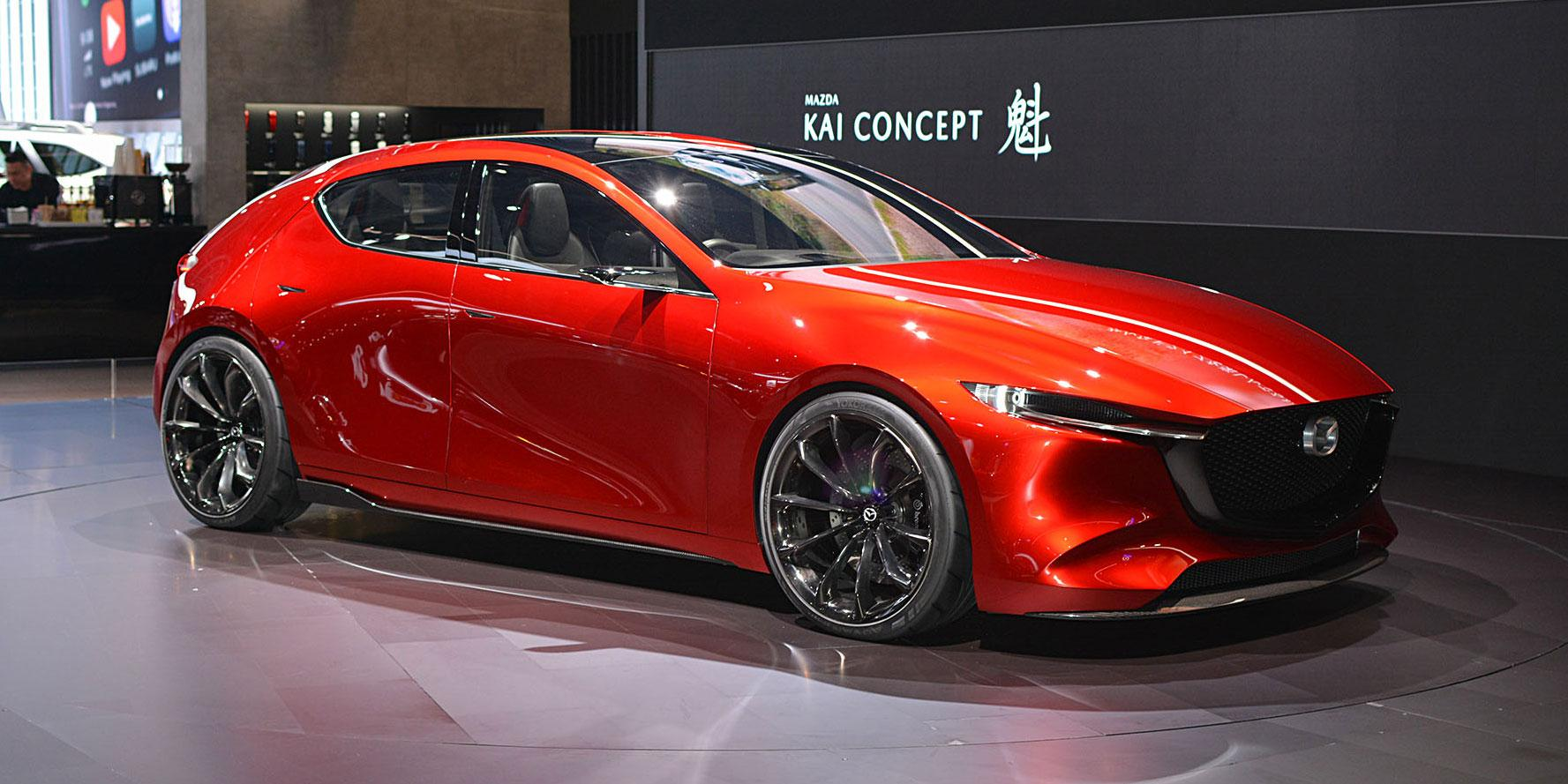 Mazda Kai Concept  Photo: Ian Whelan