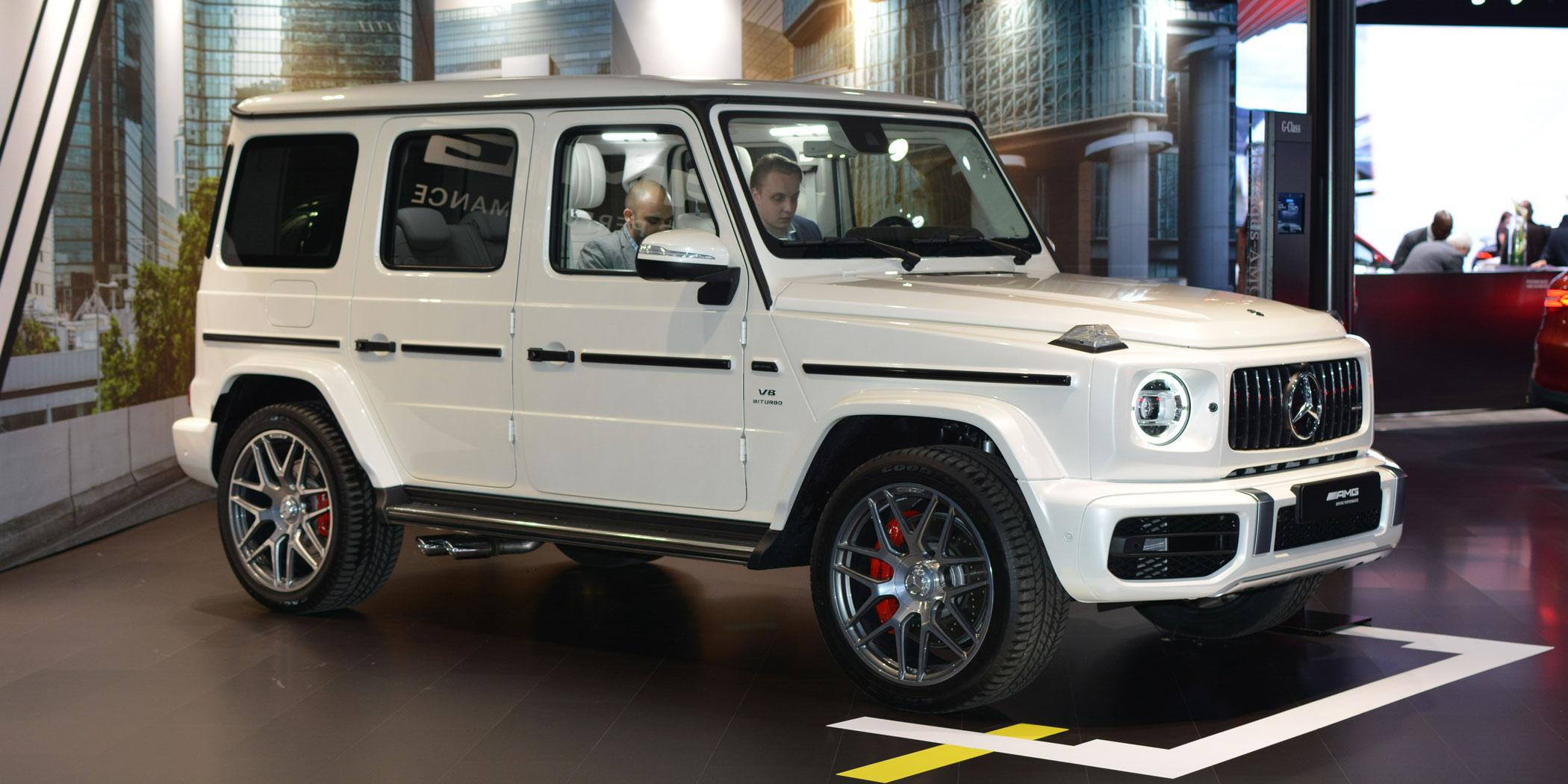 2019 Mercedes-Benz G550 Photo: Ian Whelan