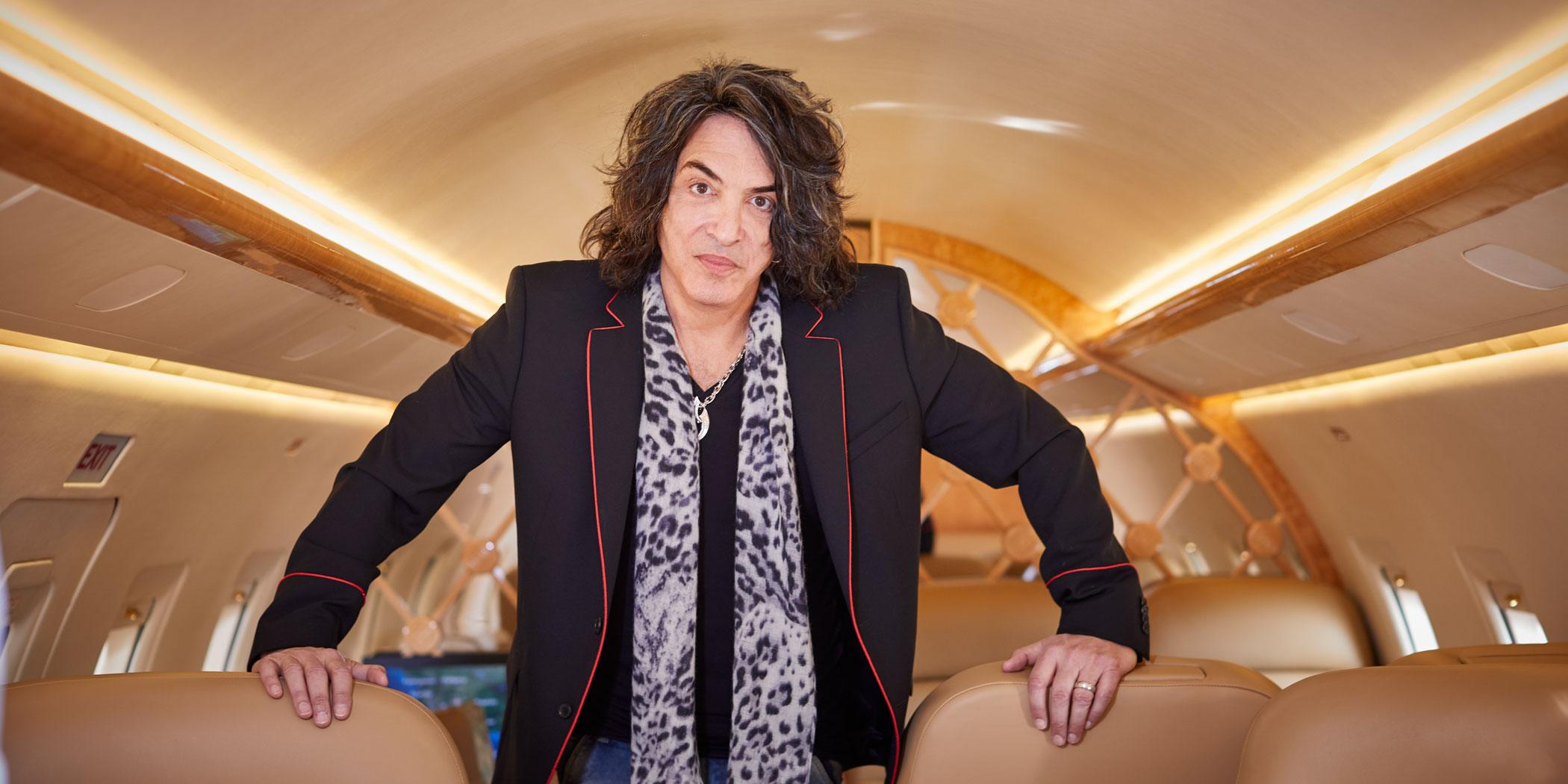 Paul Stanley, cofounder  of the rock band Kiss and a 2018 interviewee