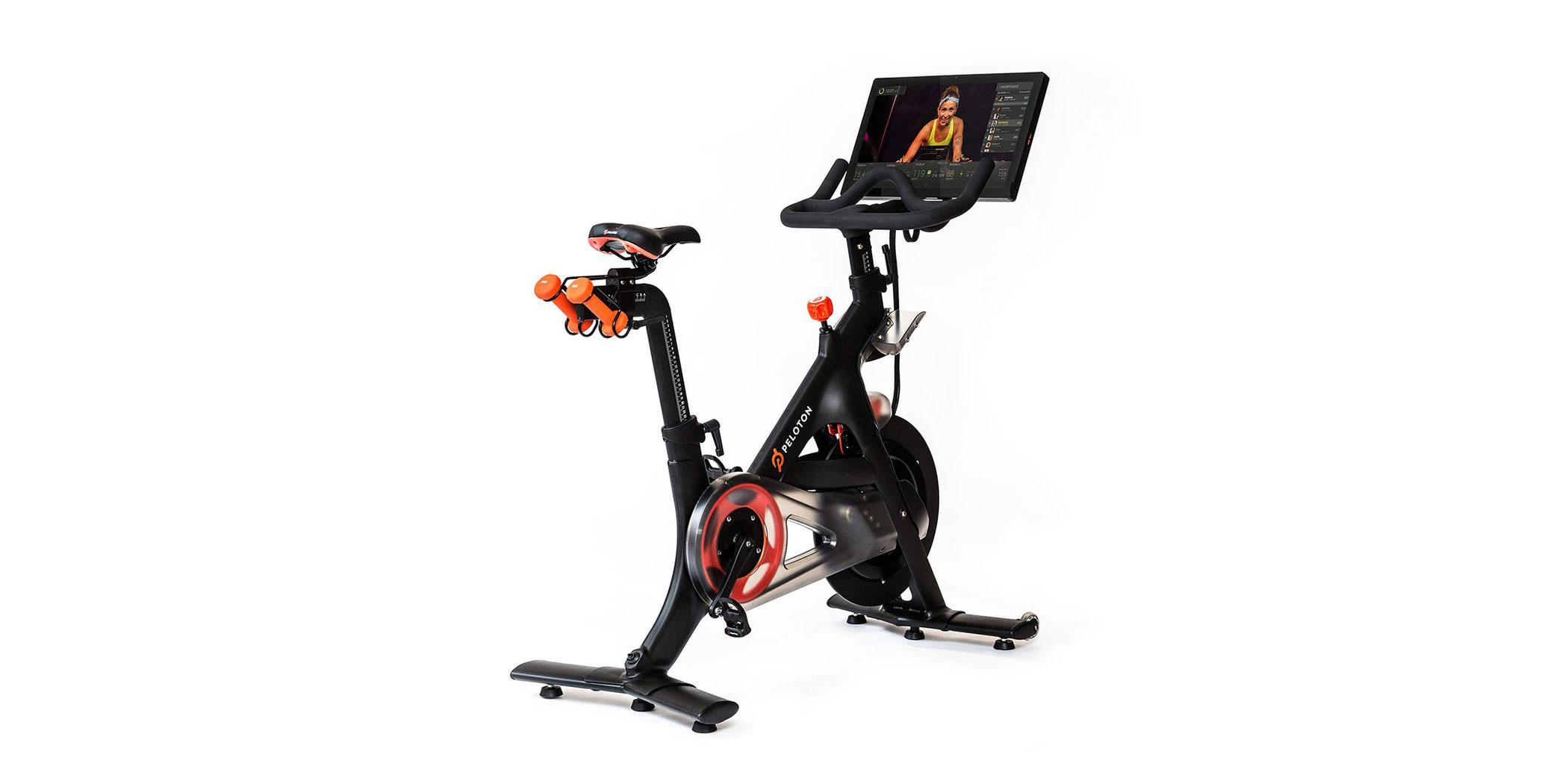 Peloton indoor cycling system