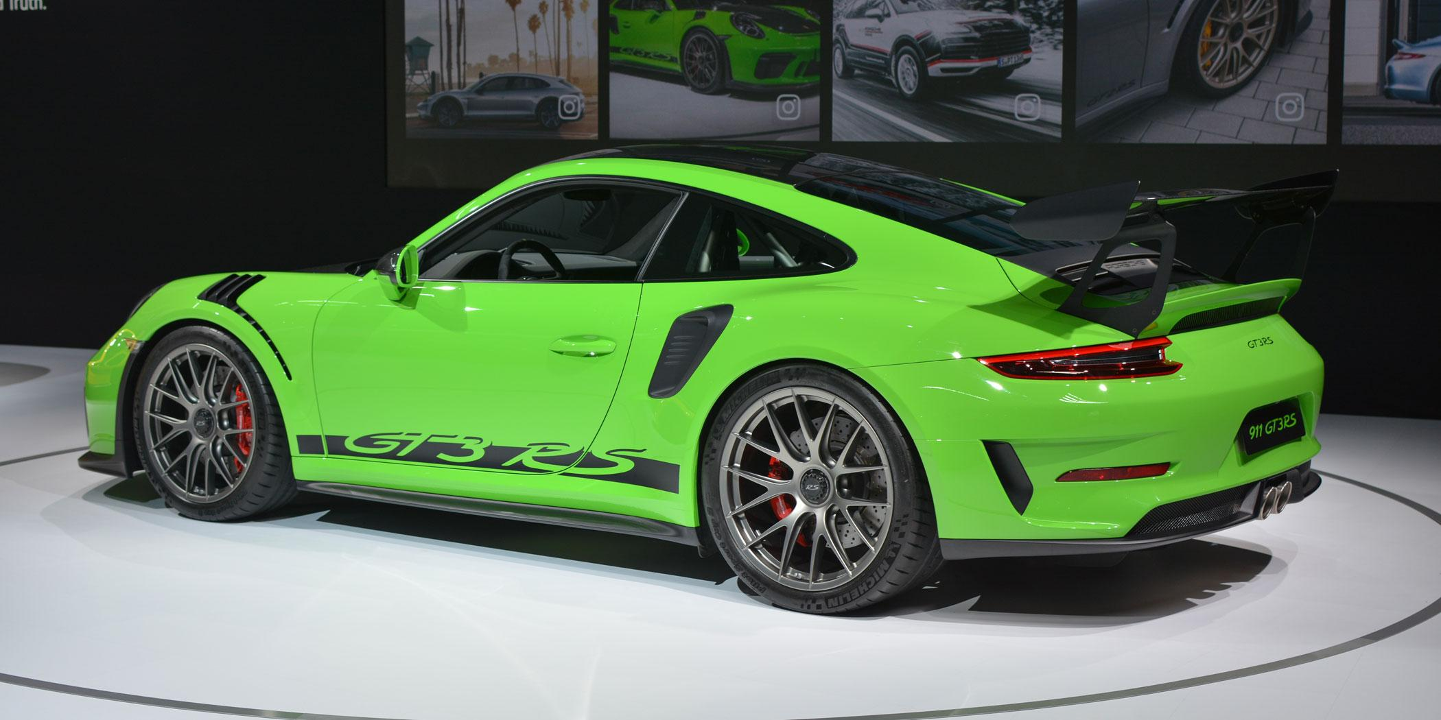 2019 Porsche 911 GT3 RS Photo: Ian Whelan