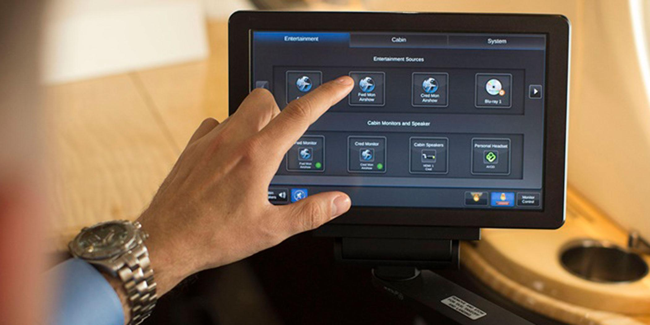 Rockwell Collins cabin management system