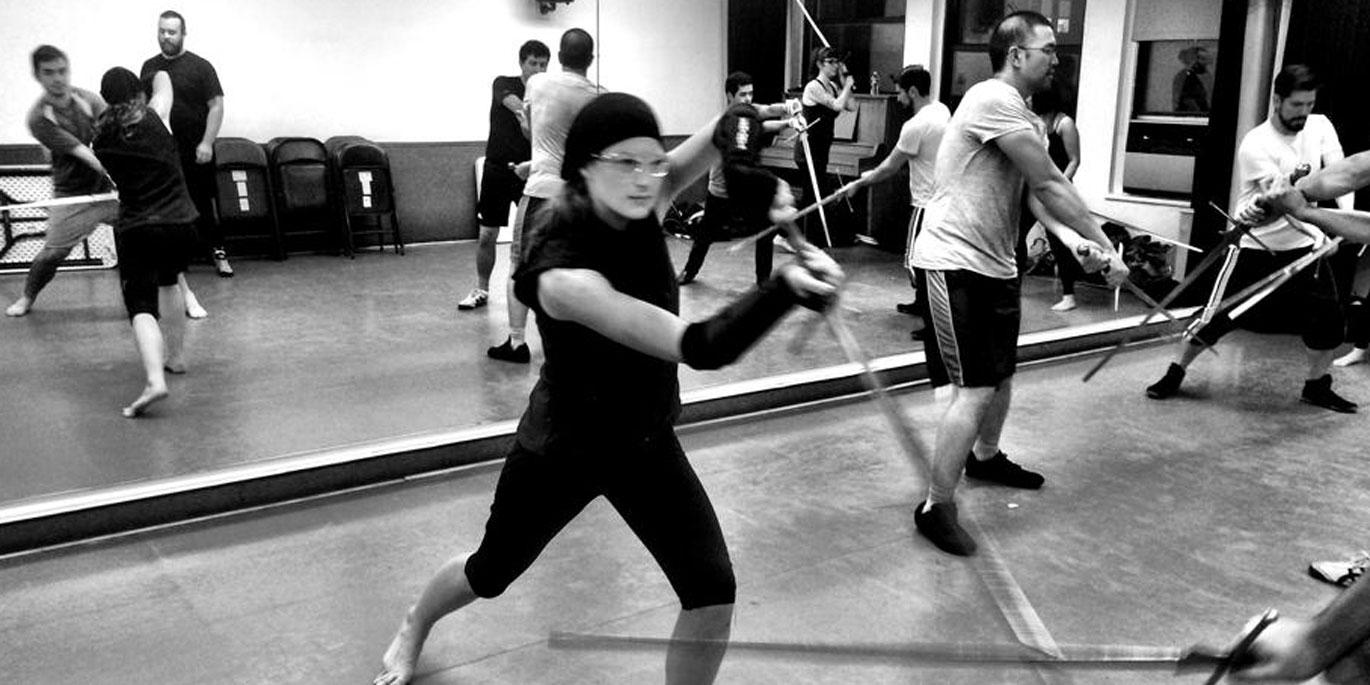 Be in your own Game of Thrones by learning to use a sword at Sword Class NYC.