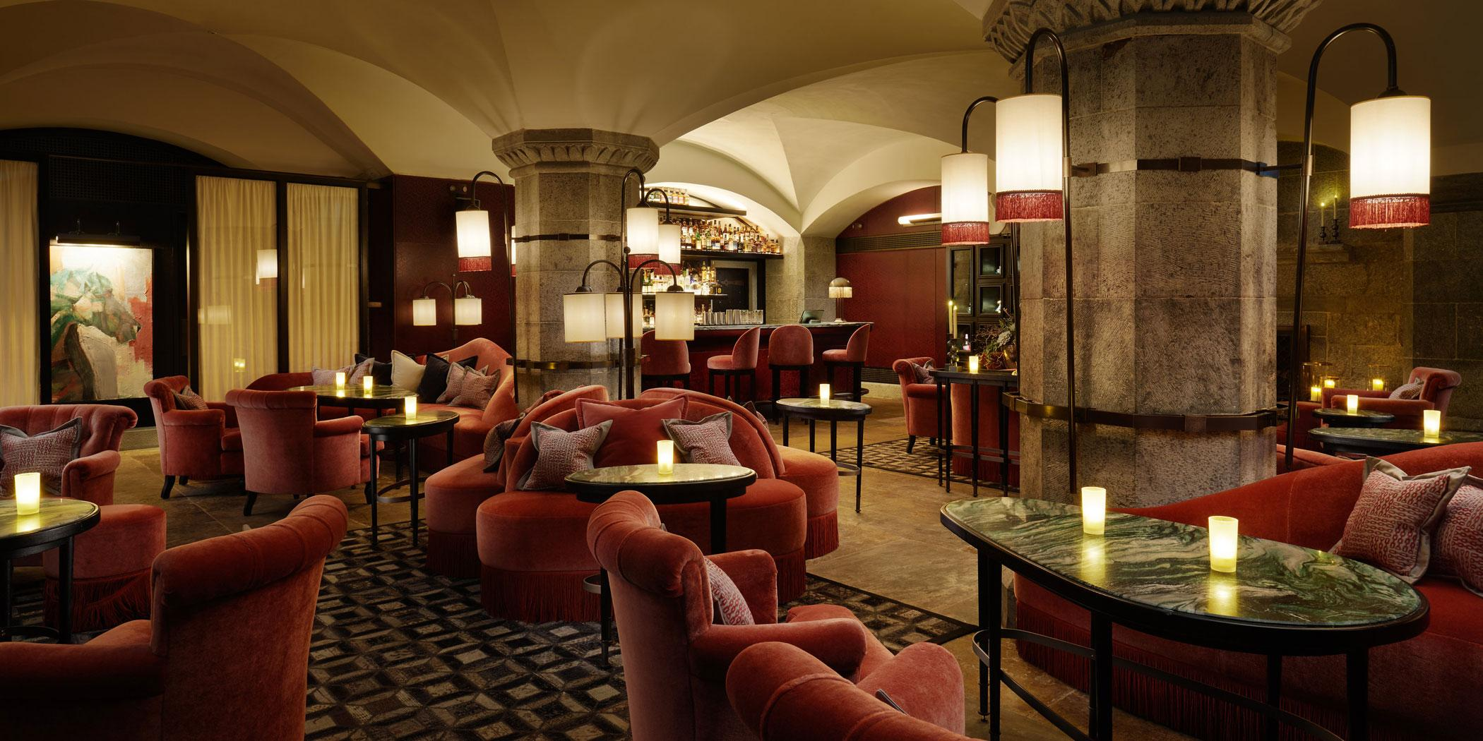 Ireland's mid-19th century Adare Manor features a cozy new whiskey lounge called the Tack Room.