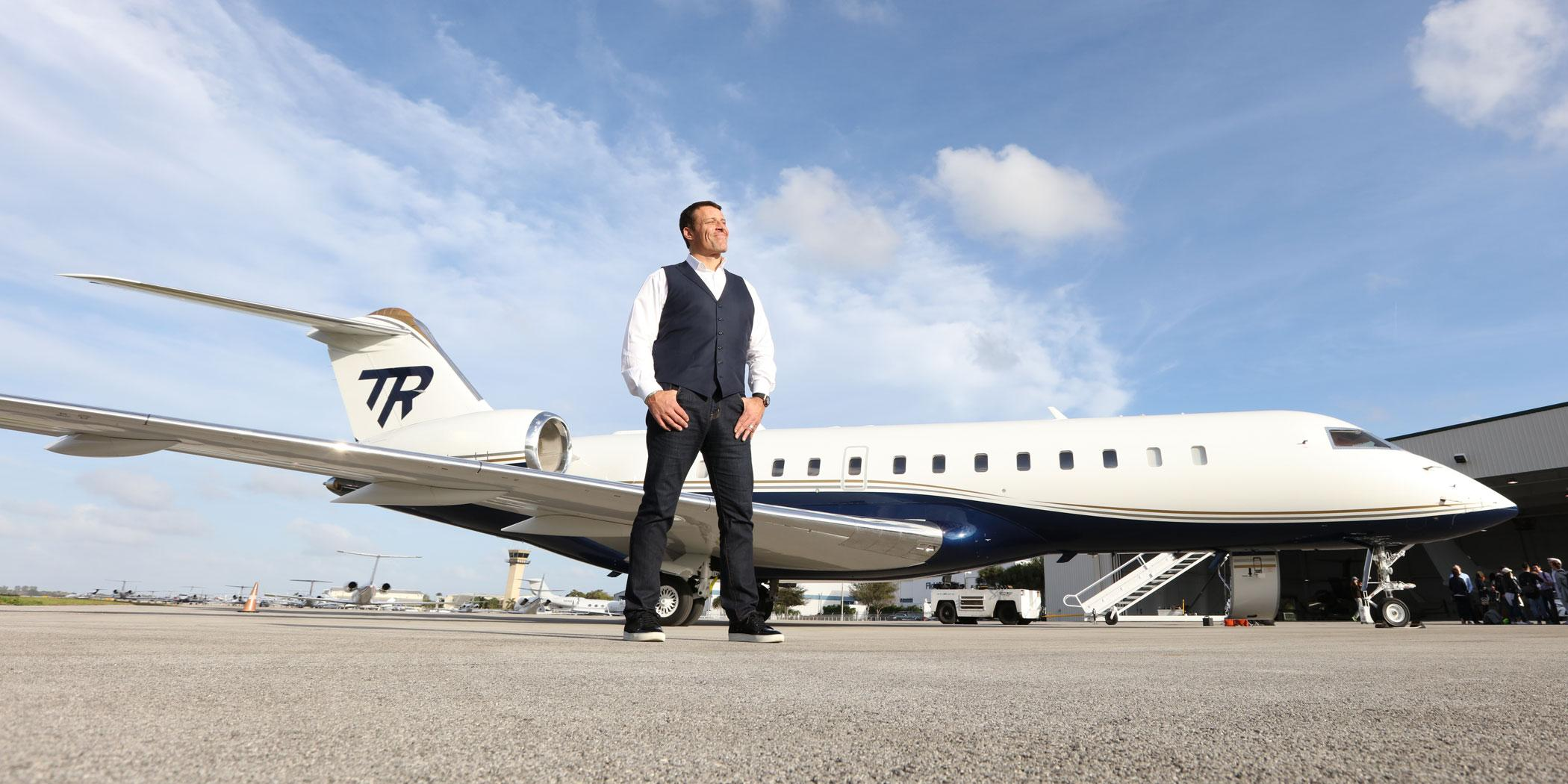 Tony Robbins, motivational speaker (Photo: Cy Cyr)