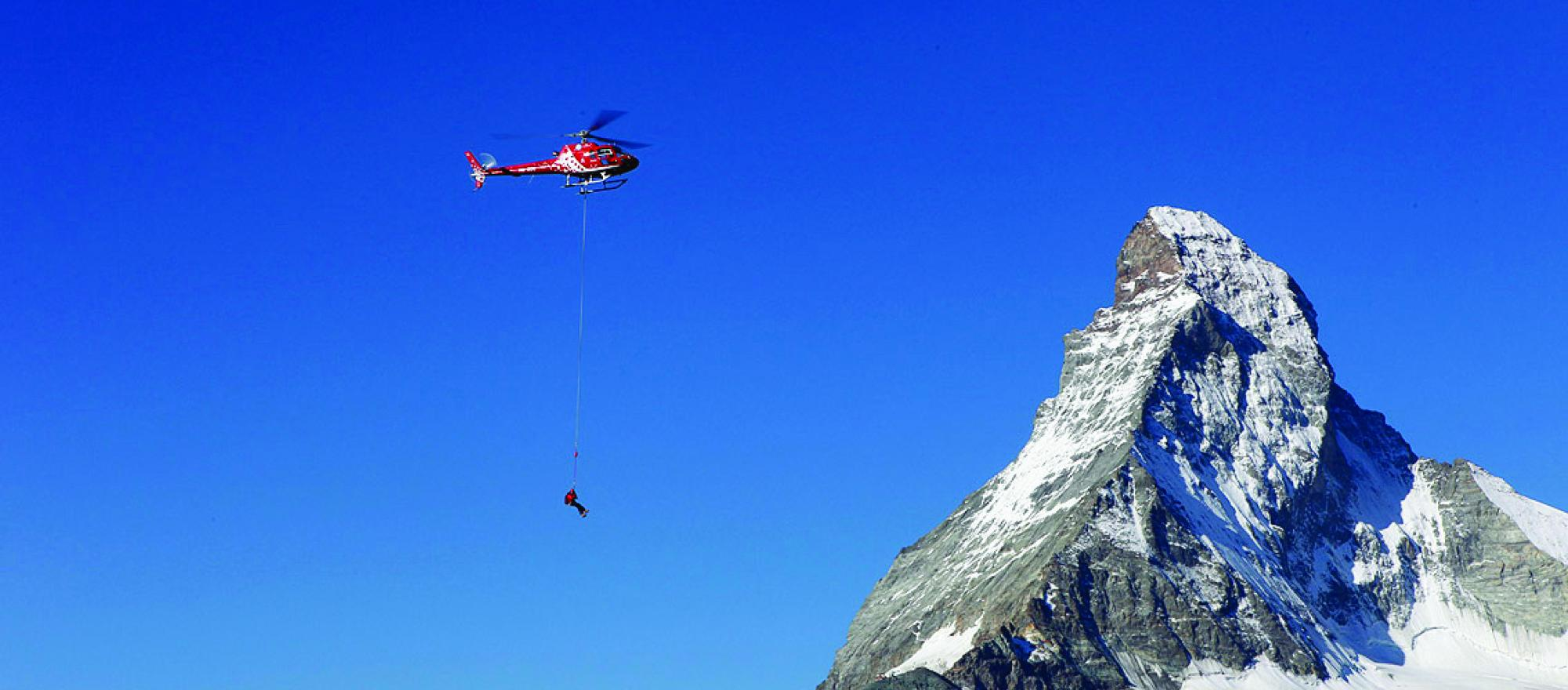 Helicopters have been assisting in rescue efforts in the aftermath of Nepal's earthquake.