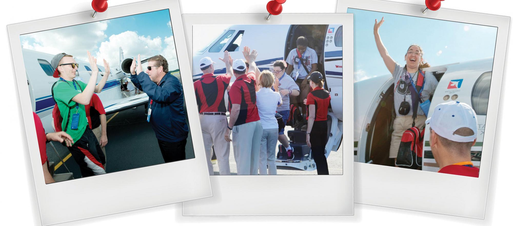 """""""This is business aviation at its best—so many people giving their time and talents to such a worthy cause."""" —Ed Bolen, president and CEO of the NBAA. (Photos: Mark Phelps)"""
