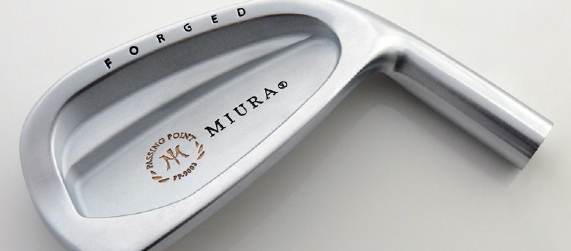 Miura Golf, Passing Point 9003 Forged Cavity Back Irons