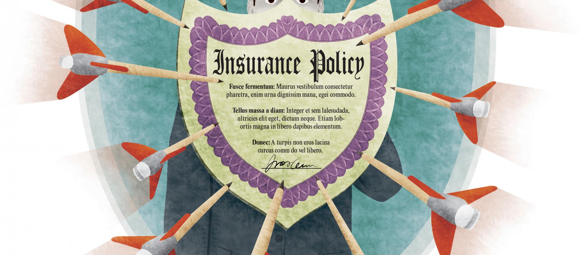 A charter or fractional provider's insurance can cause problems for customers. (Illustration: John Lewis)