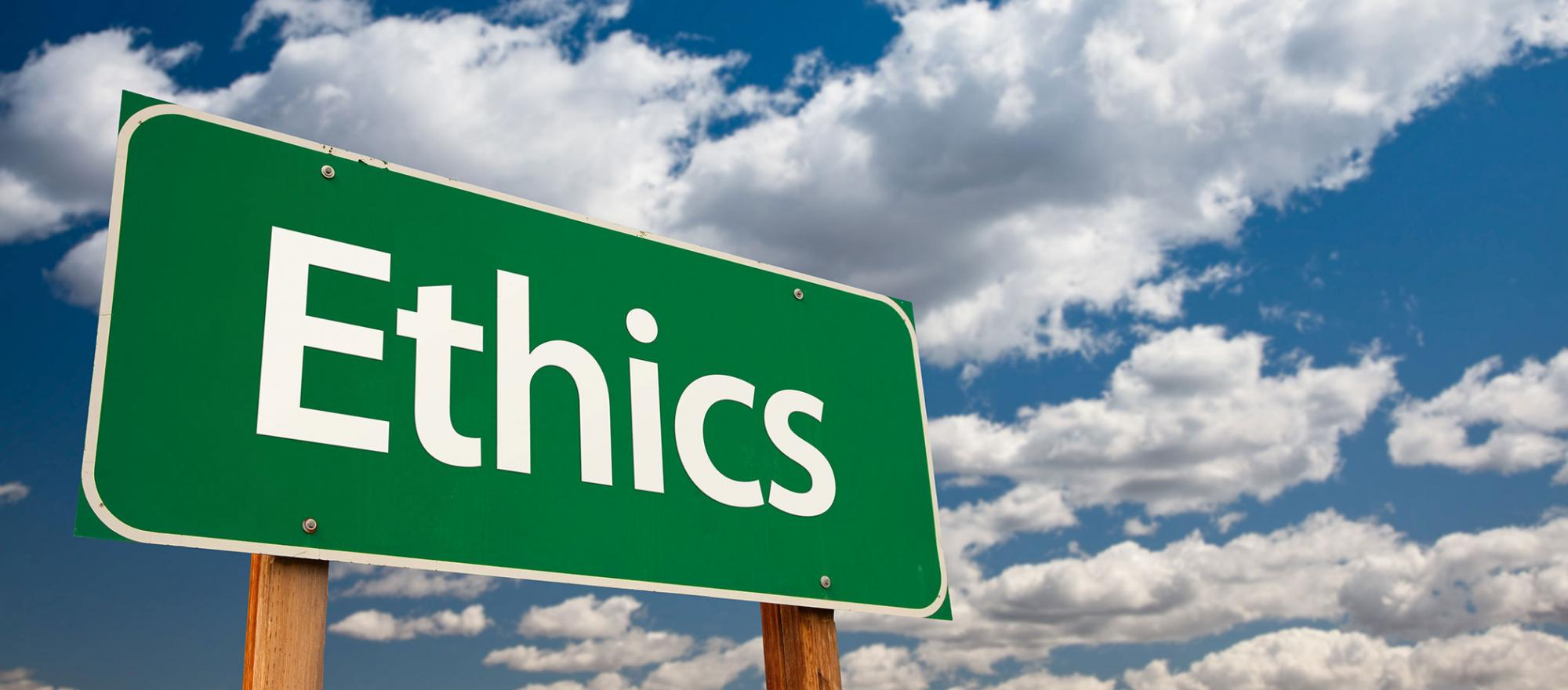 A focus on ethical conduct