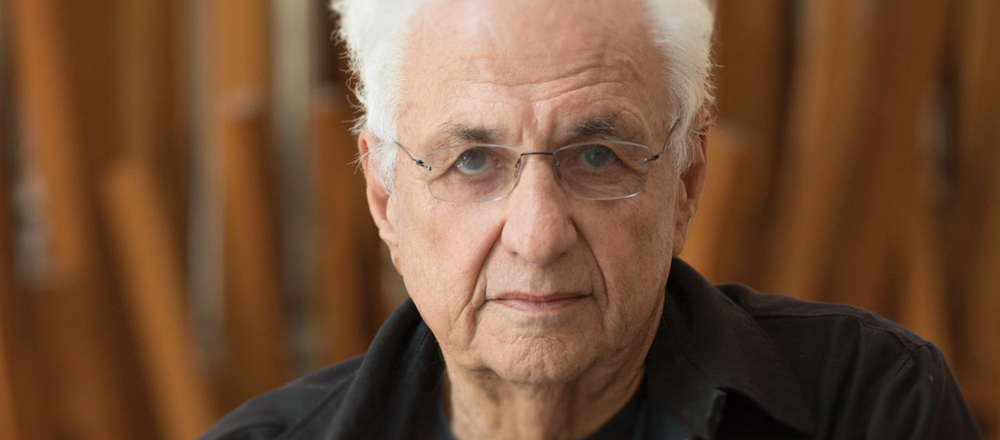 Architect Frank Gehry.  All photos by Chad Slattery except where noted.