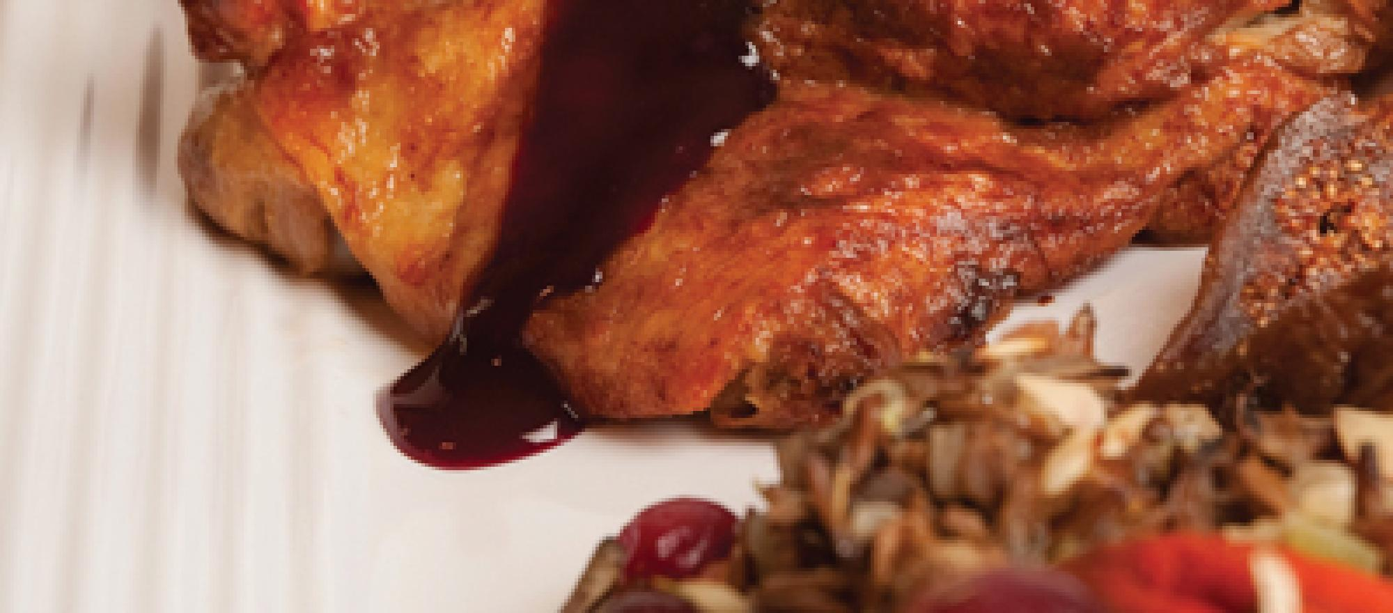 Haute Cuisine: Maple Farms Blueberry Duck