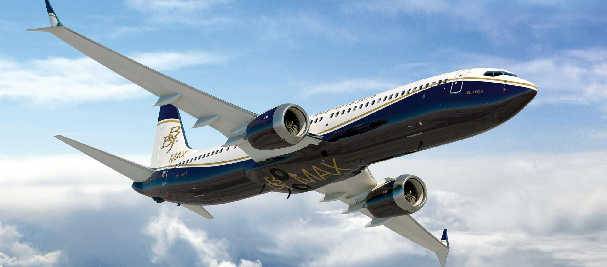The BBJ Max 9 will offer a 6,255-nautical-mile range, a 16.2 percent jump from the BBJ3.