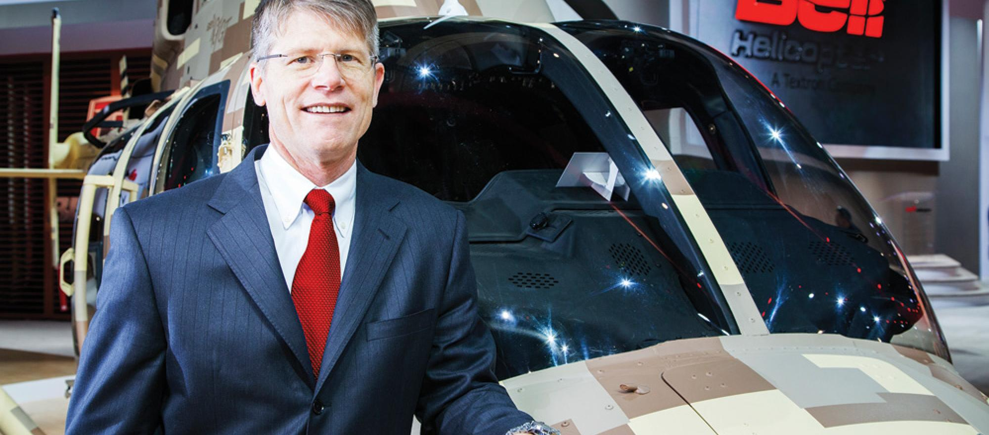 Bell Helicopter President and CEO, John L. Garrison, Jr. (Photo: Bell Helicopter)