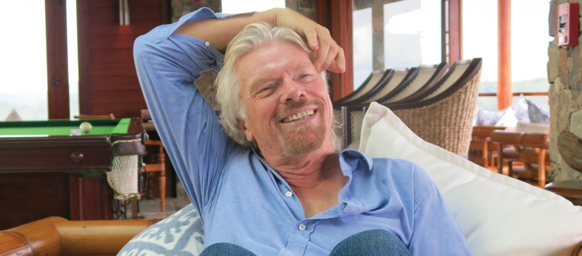 Sir Richard Branson (Photo: Margie Goldsmith)