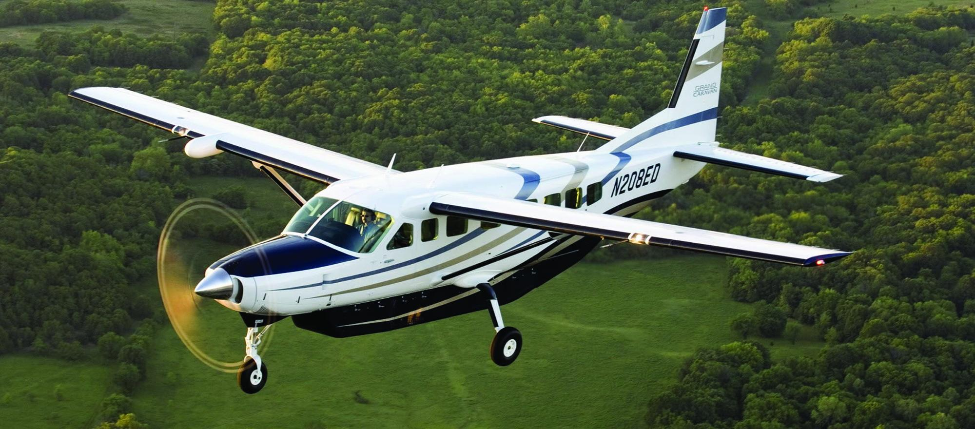 The Cessna Caravan is now being marketed under the Textron Aviation umbrella, which includes Cessna and Beechcraft products.