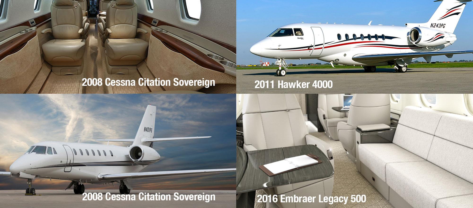 Late-Model Midsize and Super-Midsize Business Jets