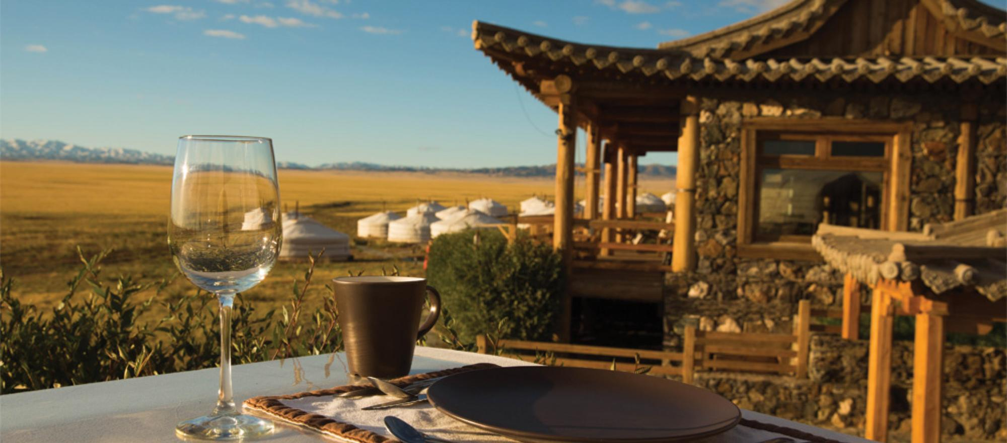 At the heart of the 500,000-square-mile Gobi Desert, hundreds of miles from the nearest Wi-Fi, is Three Camel Lodge.