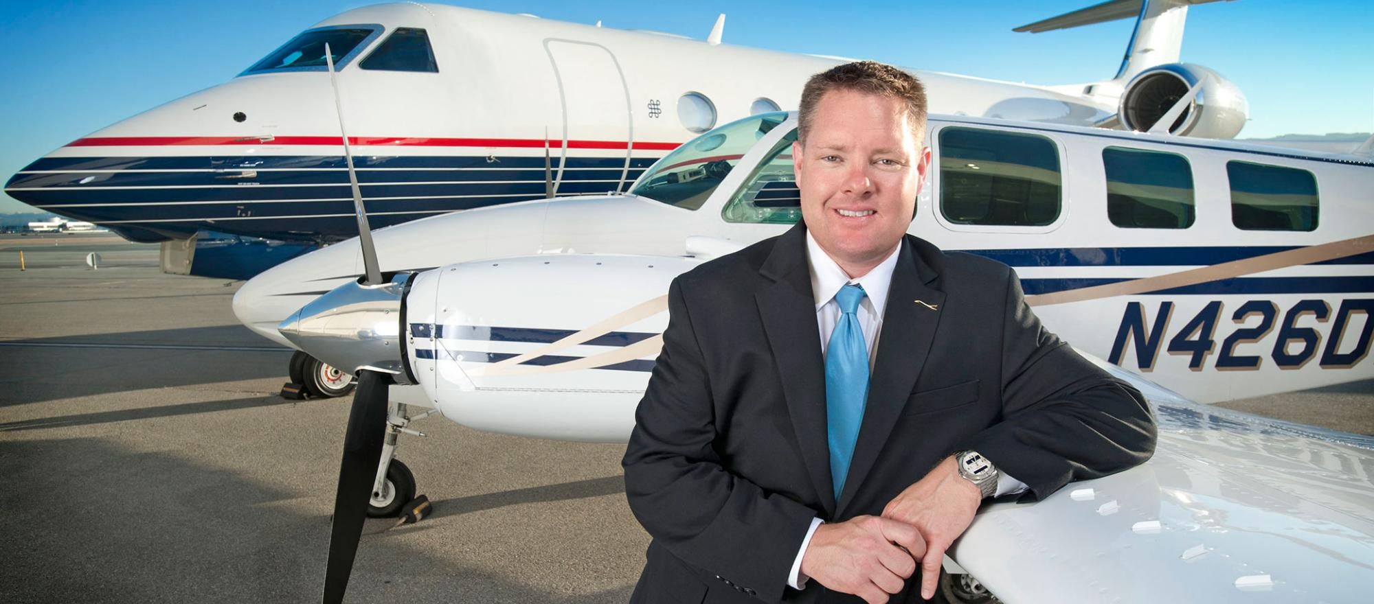 Dan Drohan (Photo courtesy of Solairus Aviation)