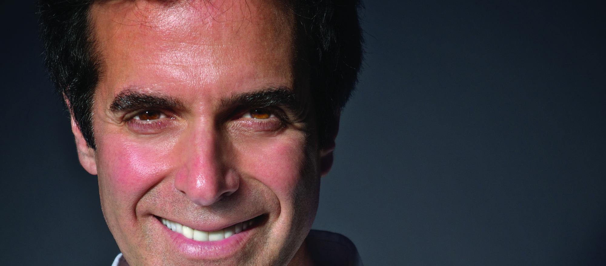 """We have so much unhappiness in the world,"" says David Copperfield, ""and people need to dream and be transported. Music does that, movies do that, and magic does that."" (Photo: Courtesy of David Copperfield)"
