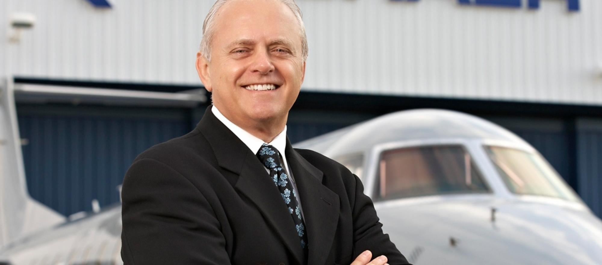 Ernie Edwards, President of Embraer Executive Jets