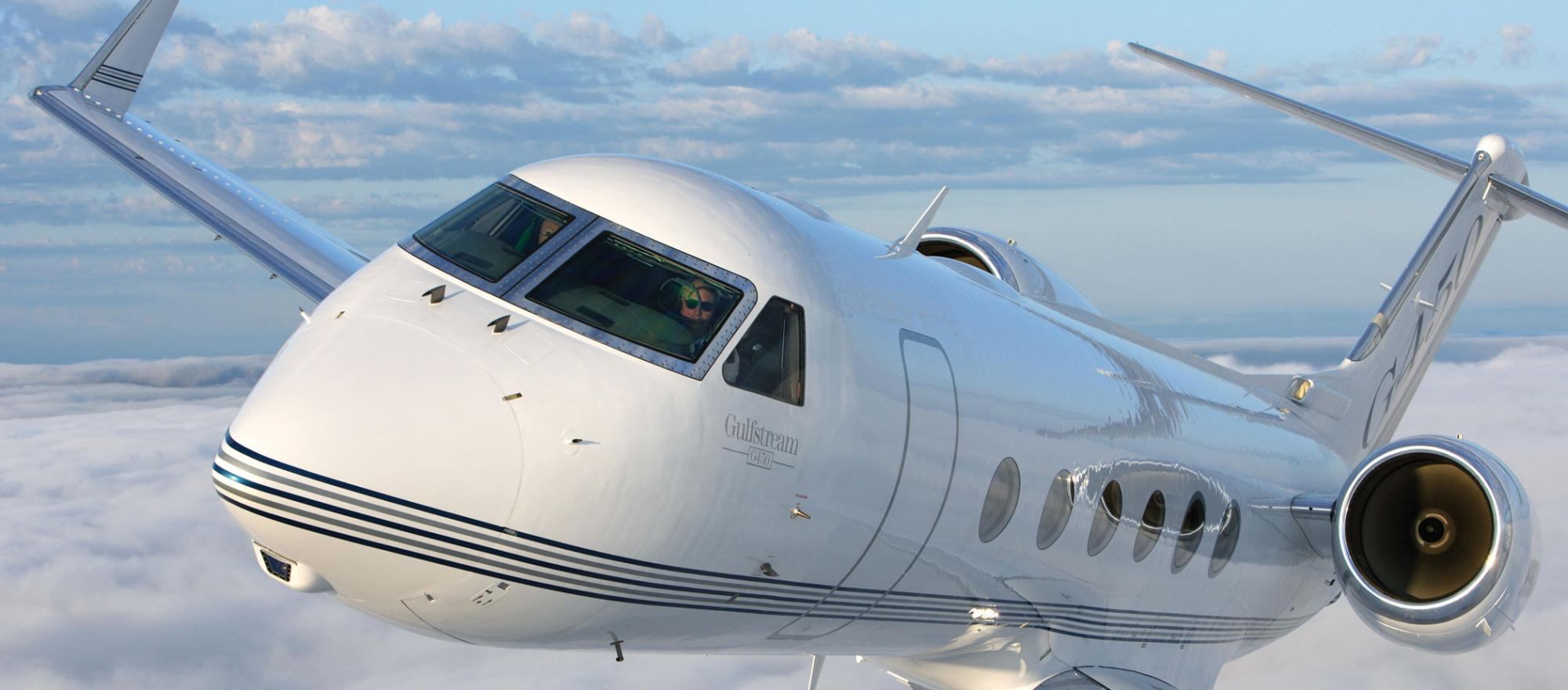 Owning and operating a Gulfstream G450 can cost $9,500 to $15,500 an hour or even more, depending on the depreciation method and the number of hours flown. Yet you can charter a fairly new one for about $5,600 an hour.