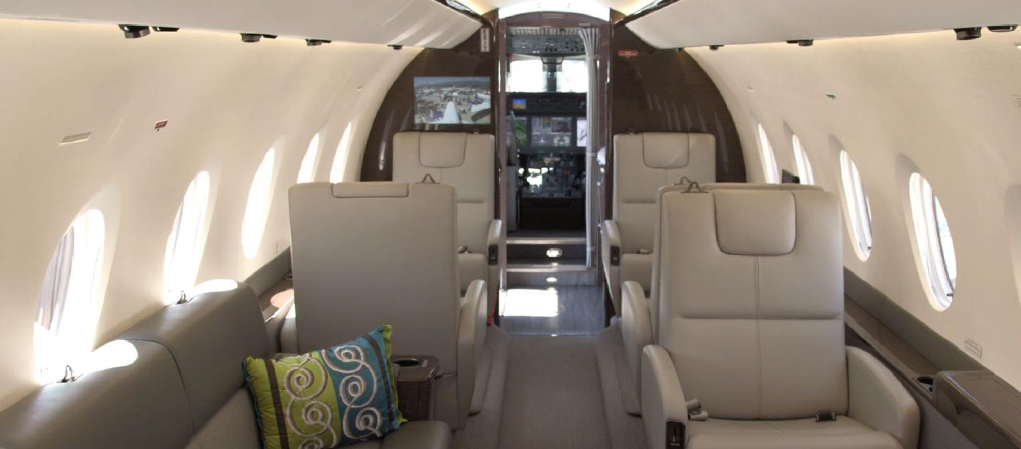 Interior of the Gulfstream G280