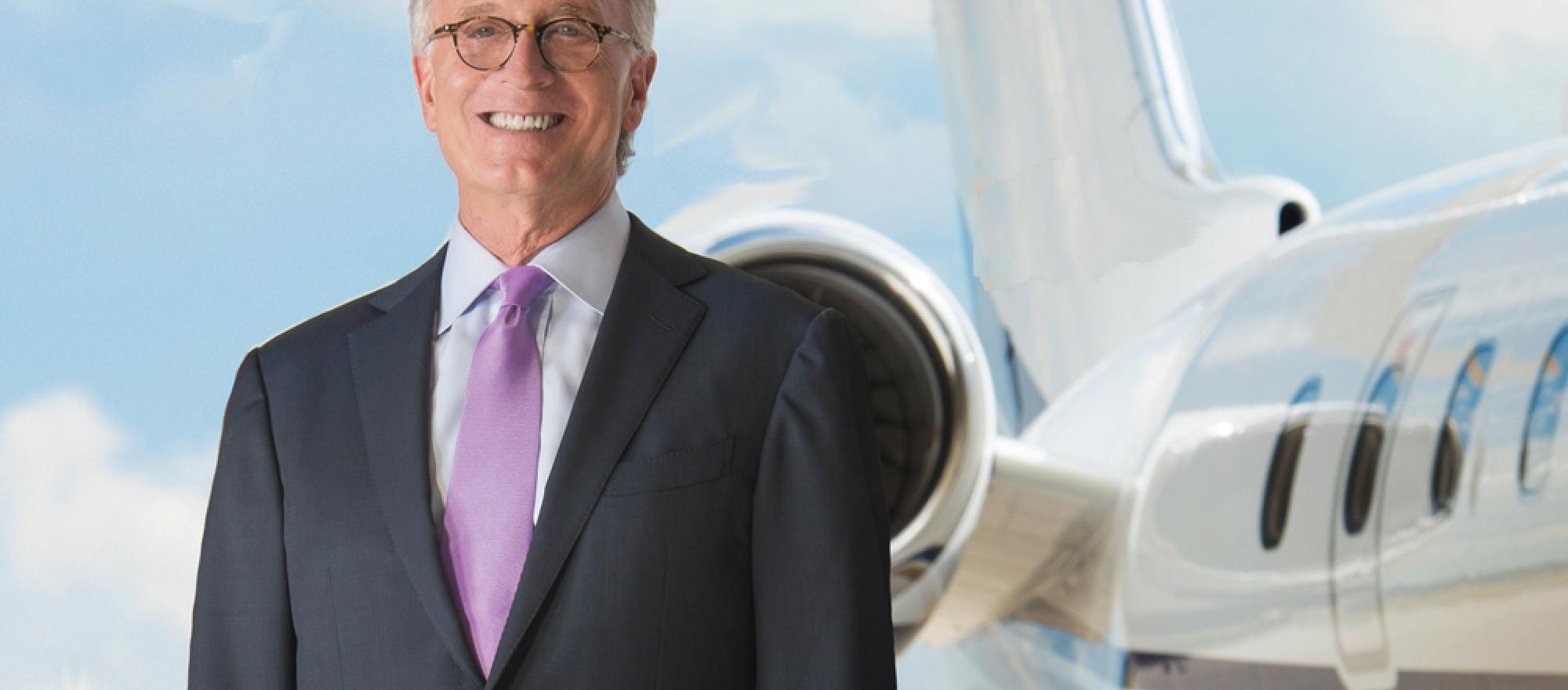 Jay Mesinger, CEO and president, Mesinger Jet Sales