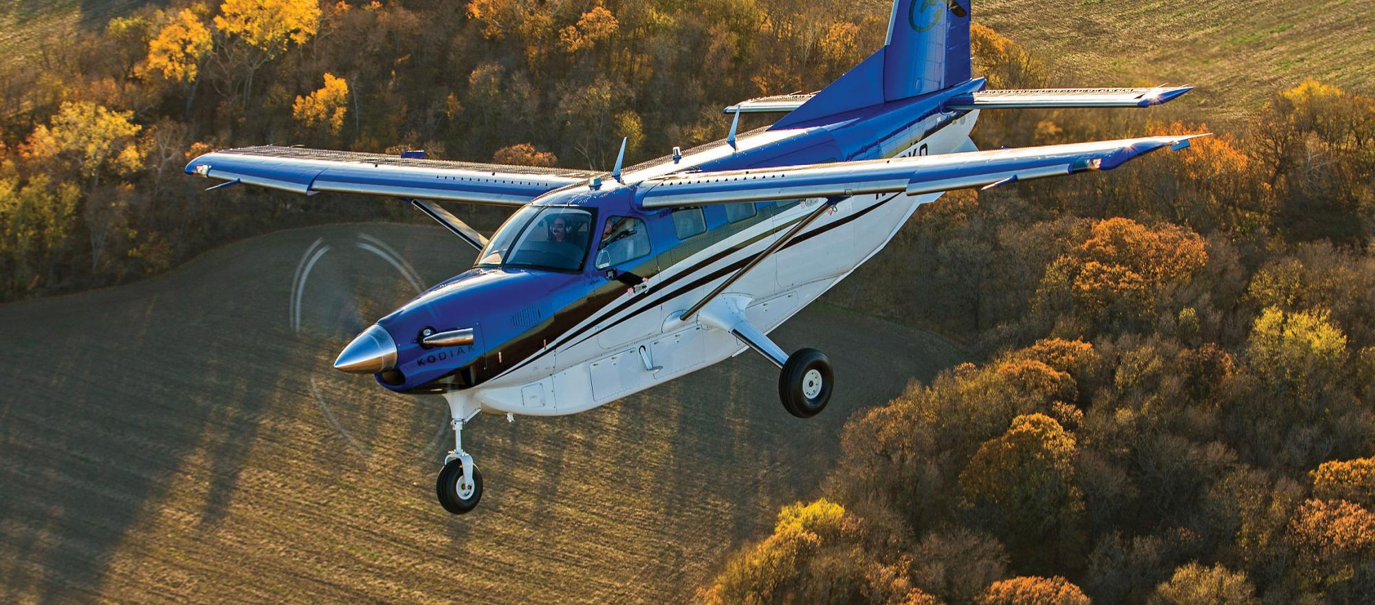 Have to land on 1,200 feet of gravel, an undulating field or a sloped hillside or corkscrew down into a small glacial lake? This is the airplane you need.