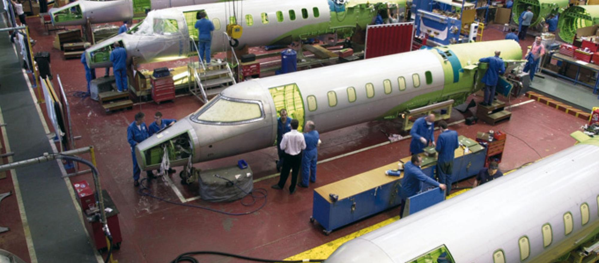 National Geographic Channel Documents Making of a Learjet